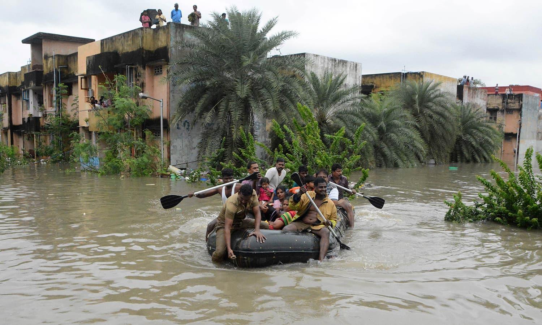 भारत के जीडीपी पर बाढ़ का असर
